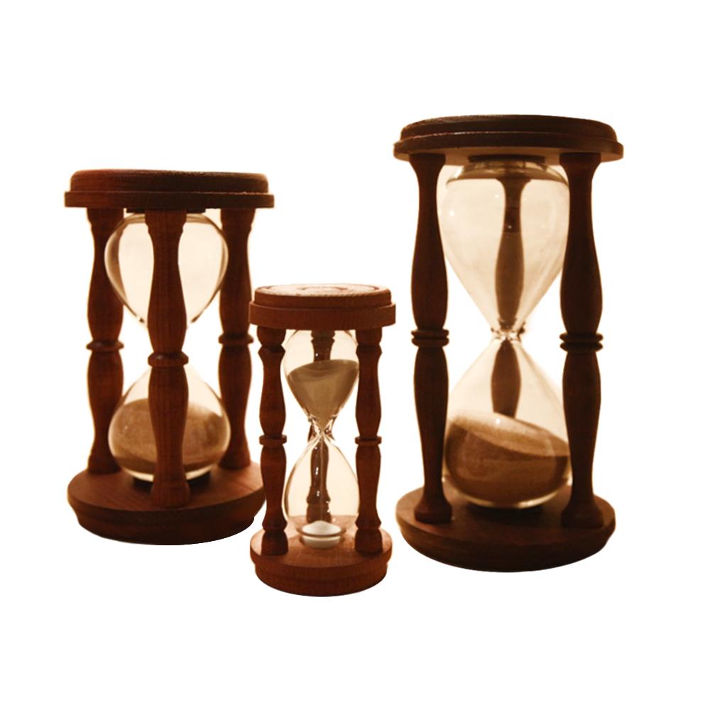 Clessidre in legno da 5 15 30 minuti