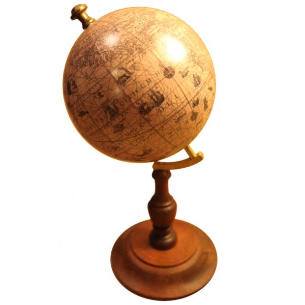 antico globo terrestre