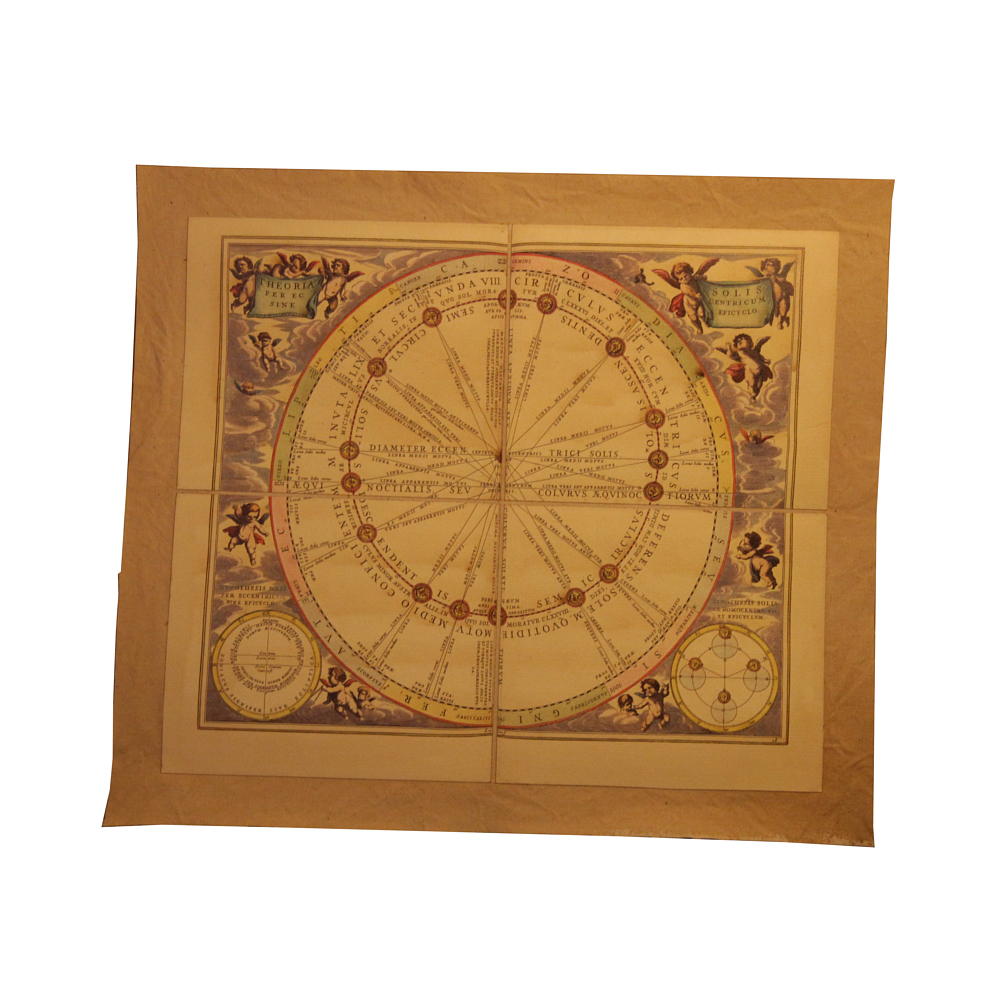Reproduction of an Astronomical Map