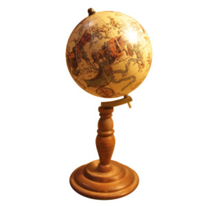 astrological globe reproduction
