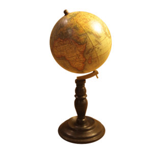 Terrestrial Globe reproduction of 1700s