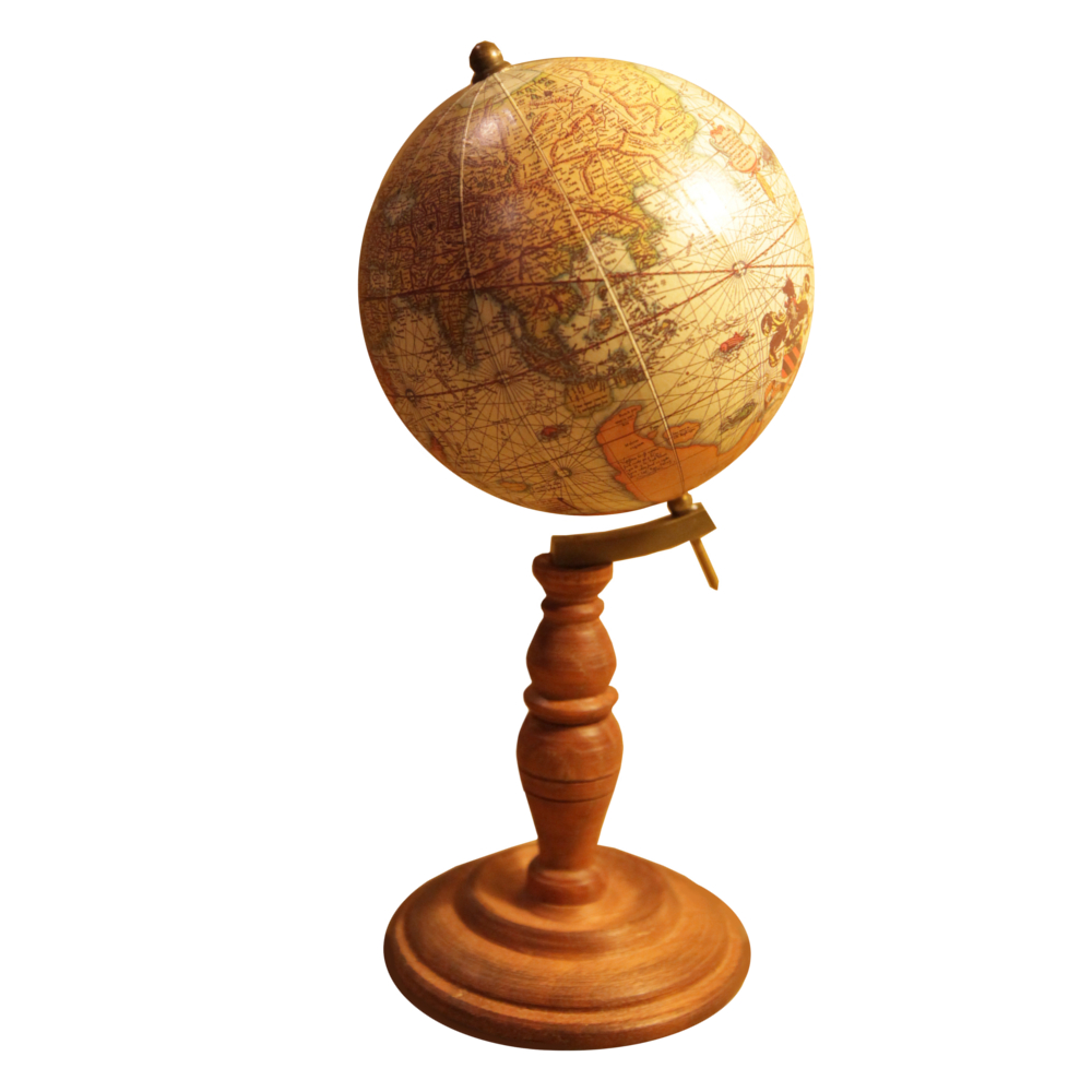 Terrestrial Globe reproduction of 1500s